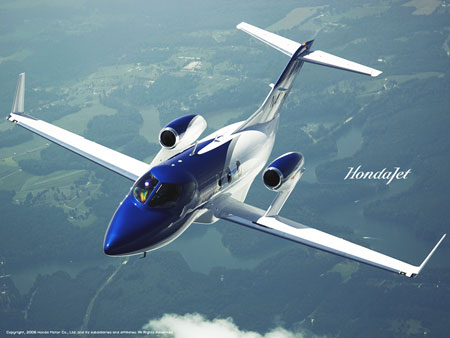 Contract engineering recruiter at honda aircraft company for Honda private jet