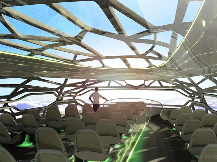 Airbus 2050 interior